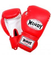 Боксерские Перчатки Детские WINDY BSG Red