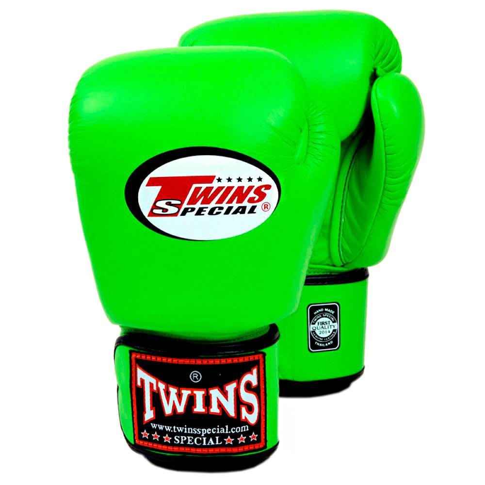 Боксерские перчатки Детские TWINS BGVS-3 Green