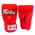 Снарядные перчатки FAIRTEX TGT7 Red
