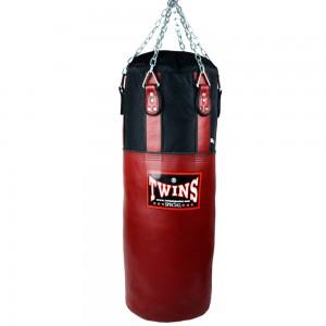 Мешок боксерский TWINS Кожа-Нейлон HBNL-3 Black-Red