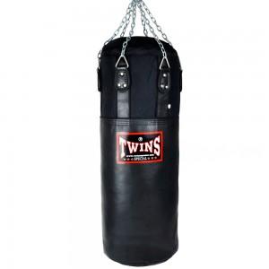 Мешок боксерский TWINS Кожа-Нейлон HBNL-3 Black-Gray
