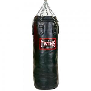 Мешок боксерский TWINS HBFL Натуральная кожа Black