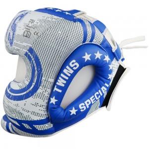 Боксерский шлем TWINS TW5 Blue