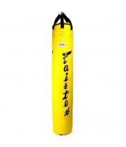 Боксерский мешок Fairtex HB6 Тайский Банан Желтый цвет