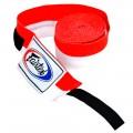 Бинты Тайский Бокс Fairtex Red-White