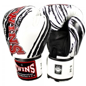 Боксерские перчаткиTWINS FBGV-TW2 White-Black