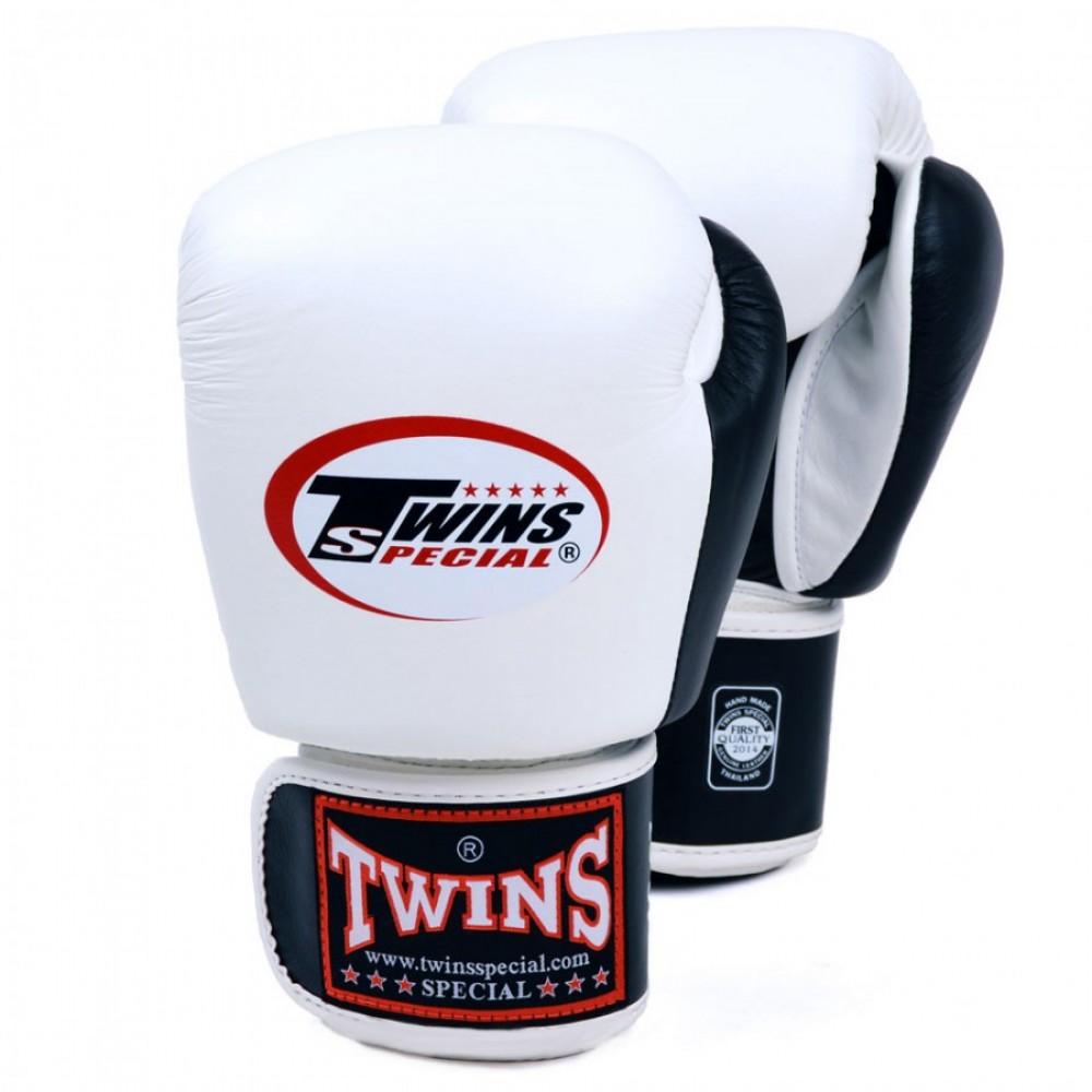 Боксерские перчаткиTWINS BGVL-3T  White-Black