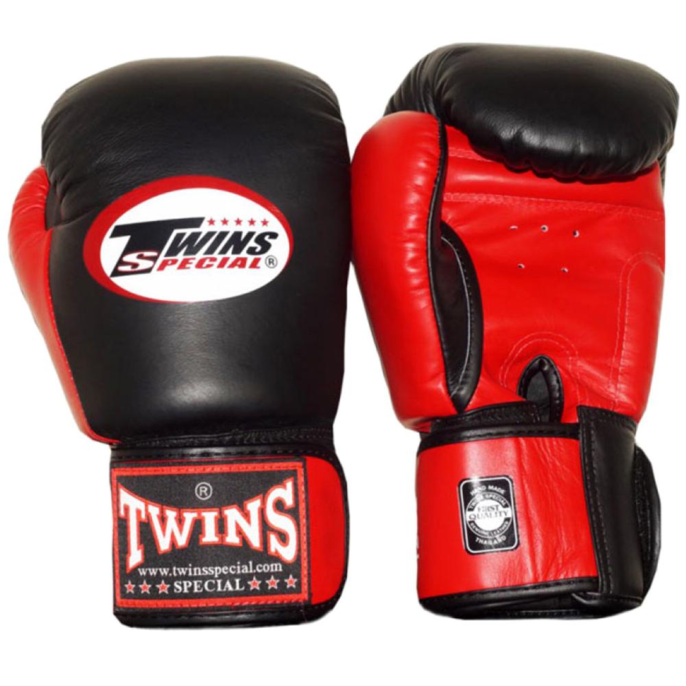 Боксерские перчаткиTWINS BGVL-3T Black-Red