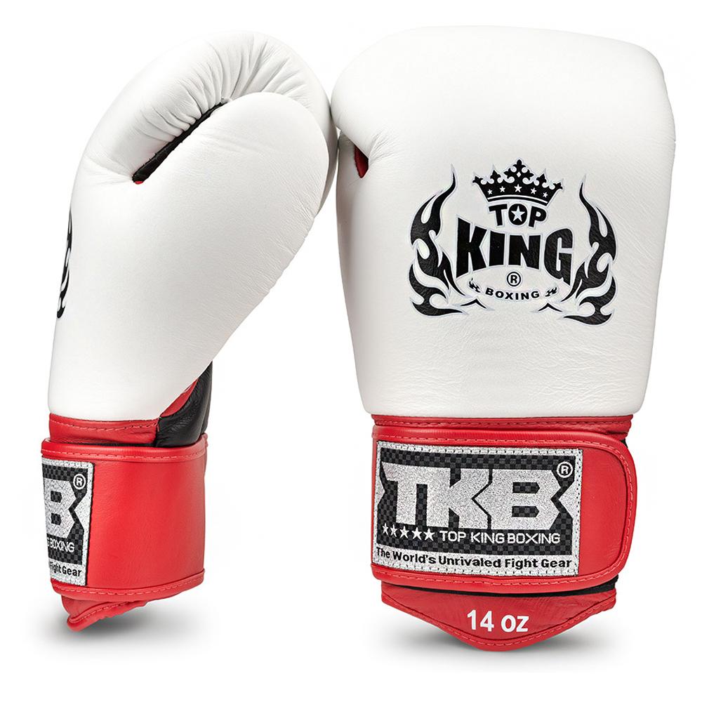 "Боксерские перчатки TOP KINGTKBGUV""ULTIMATE""White-Black"
