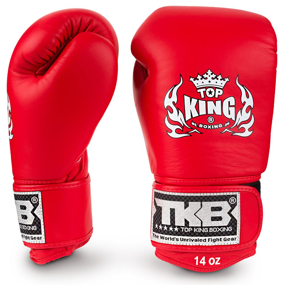 "Боксерские перчатки TOP KINGTKBGUV""ULTIMATE""Red"