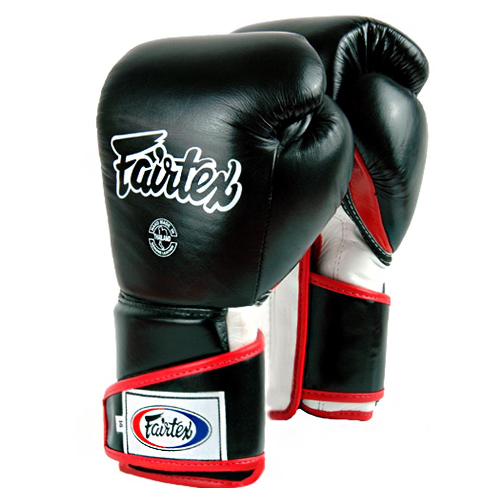 Боксерские ПерчаткиFAIRTEXBGV6 Stylish Angular Sparring GloveBlack-Red-White