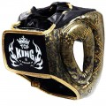 Шлем Top King Snake Gold Black
