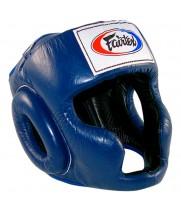 Боксерский шлем Fairtex HG3 Синий