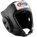 Боксерский шлем Fairtex HG1 Черный