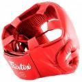 Боксерский шлем Fairtex HG1 Красный