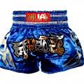 """Шорты тайские """"Muay Thai"""" Blue"""