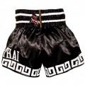 Тайские шорты недорого  Twins Special Dragon Black-White