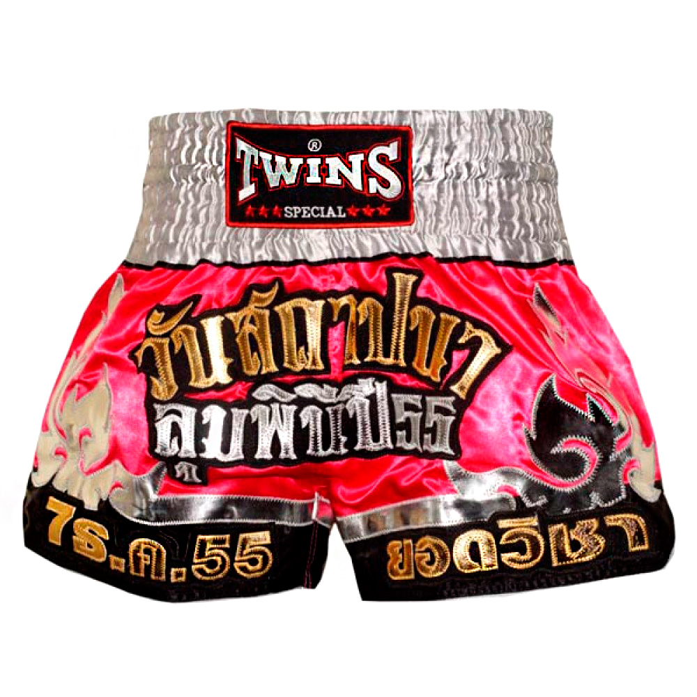Тайские Шорты Twins T-20 Pink