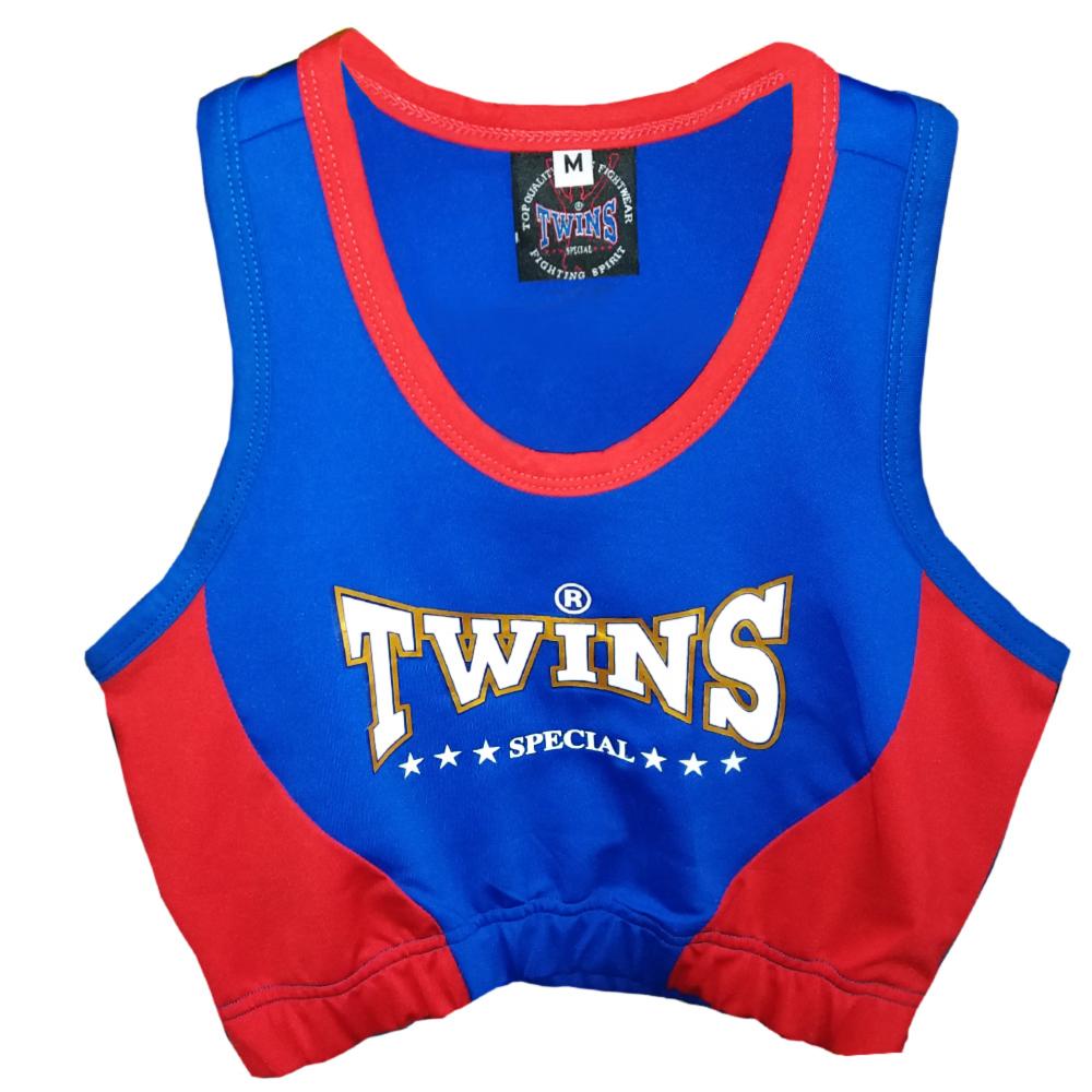 Топик TWINS SPECIAL Женский Blue-Red