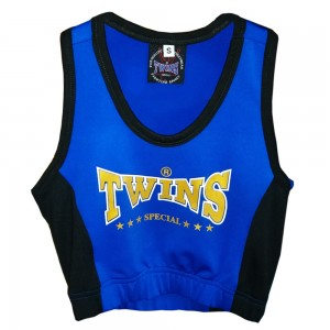 Топик TWINS SPECIAL Женский Blue-Black