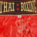 "Детские шорты муай  ""Thai Boxing"" TBK-Dragon Red"