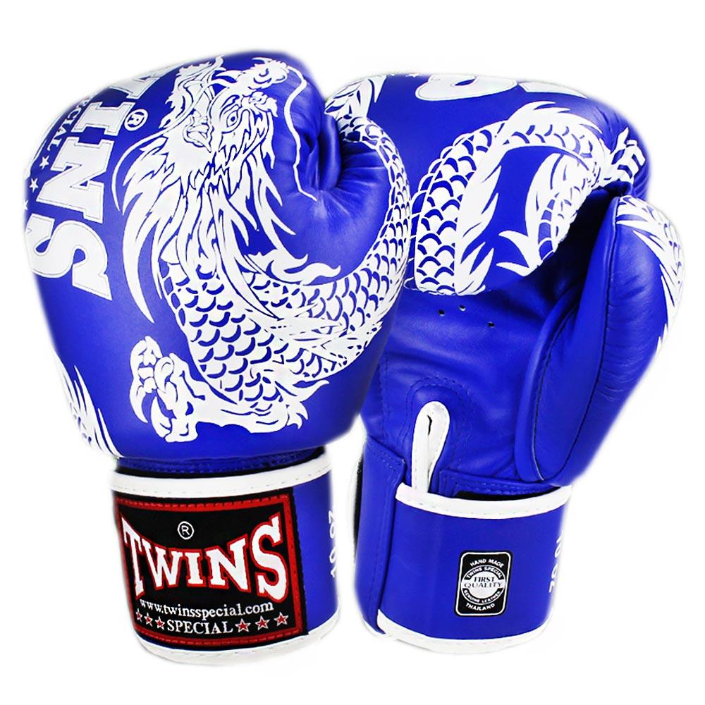 Боксерские Перчатки Twins Special FBGV-49 Blue-White