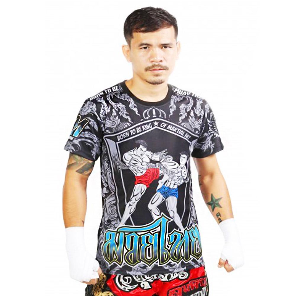 Футболка тайский бокс Born to Be PSBT-09