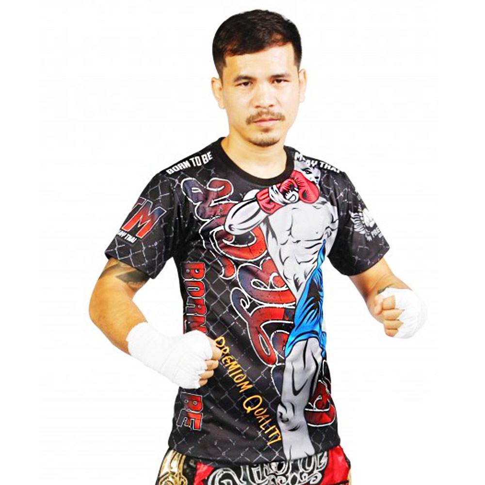 Футболка тайский бокс Born to Be PSBT-04