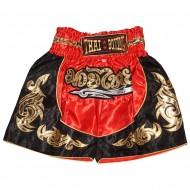 """Детские шорты муай  """"Thai Boxing"""" TBK-06-Red-Gold"""