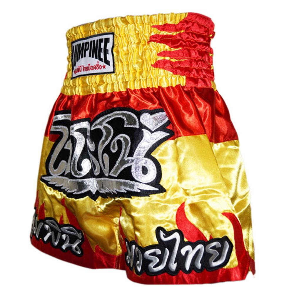 Тайские шорты  Lumpinee Flame Gray