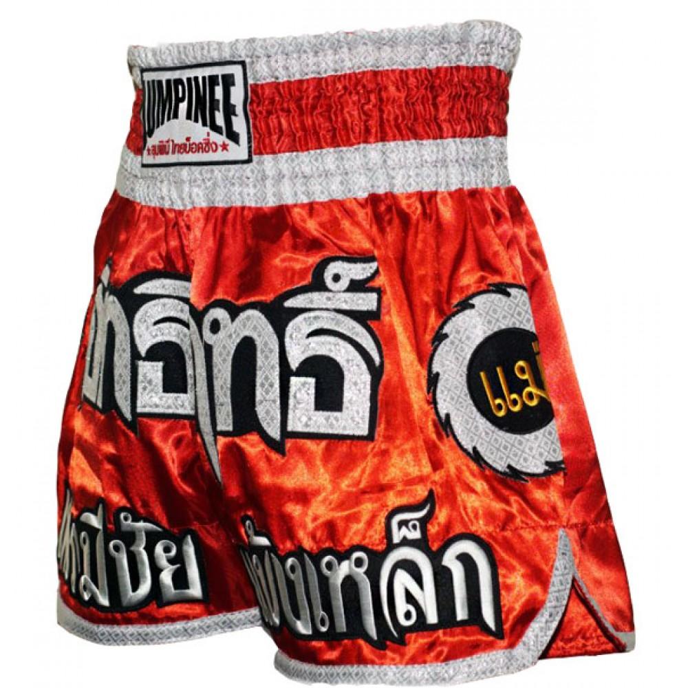 Шорты тайские Lumpinee КолесоRed