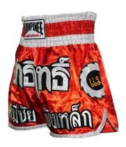 Шорты для тайского бокса Lumpinee Колесо Red