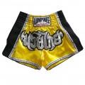 Трусы для тайского бокса купить Lumpinee Ретро Yellow