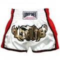 Шорты для тайского бокса Lumpinee Ретро White