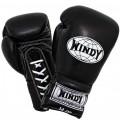 Перчатки тайские купить Windy BGLЧерные Шнурки