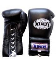 Боксерские Перчатки Windy BGL Black