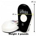 Лапы для бокса Fairtex FMV8 Pro Angular Focus