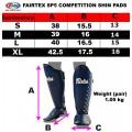Защита голени тайский бокс купить FairtexSP5Синяя