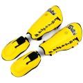 Защита для ног кикбоксинг цена Fairtex SP7 TwisterЖелтая