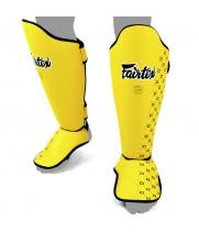 Защита голени и стопы ДЕТСКАЯ Fairtex SP5 Желтая