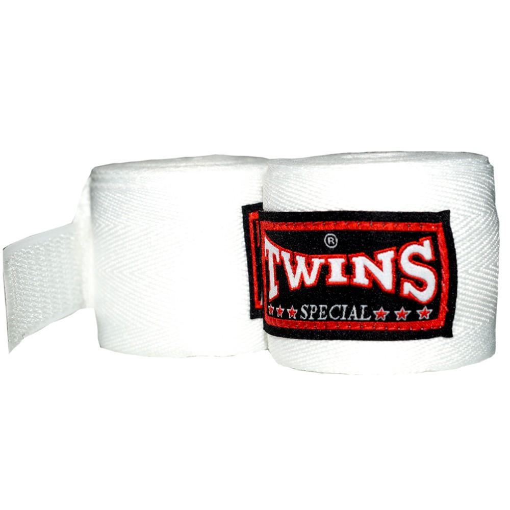 Бинты Тайский Бокс Twins Special White