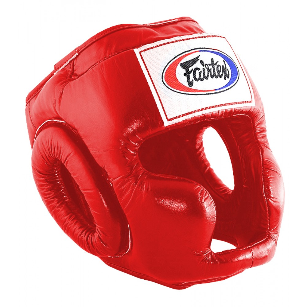 Шлем Fairtex HG3 Красный