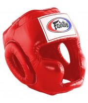 Боксерский шлем Fairtex HG3 Красный