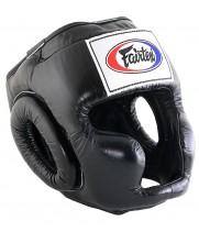 Боксерский шлем Fairtex HG3 Черный