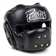 Боксерский шлем Fairtex HG14 Черный