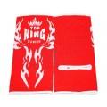 Защита голеностопа Top King Красный Вышивка