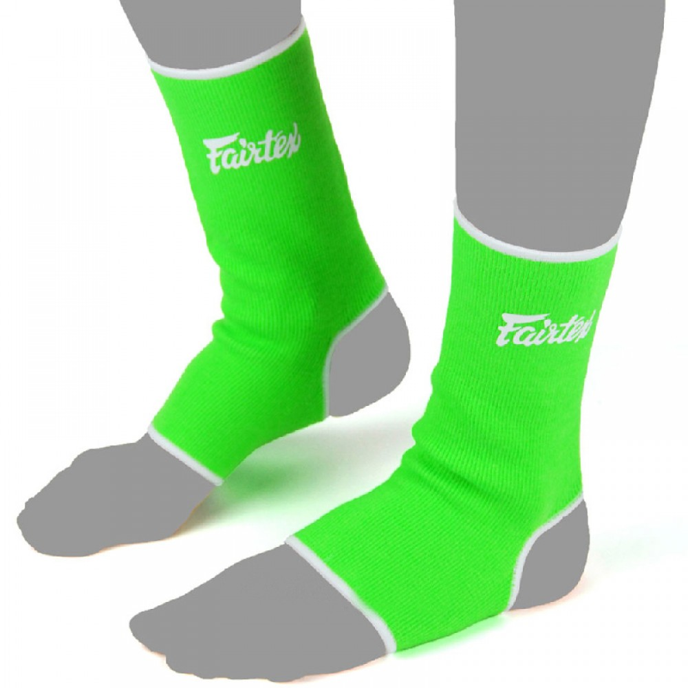 Защита голеностопа кикбоксинг Fairtex Зеленый