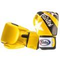 Боксерские Перчатки Фаиртекс BGV1 Nation Print Yellow